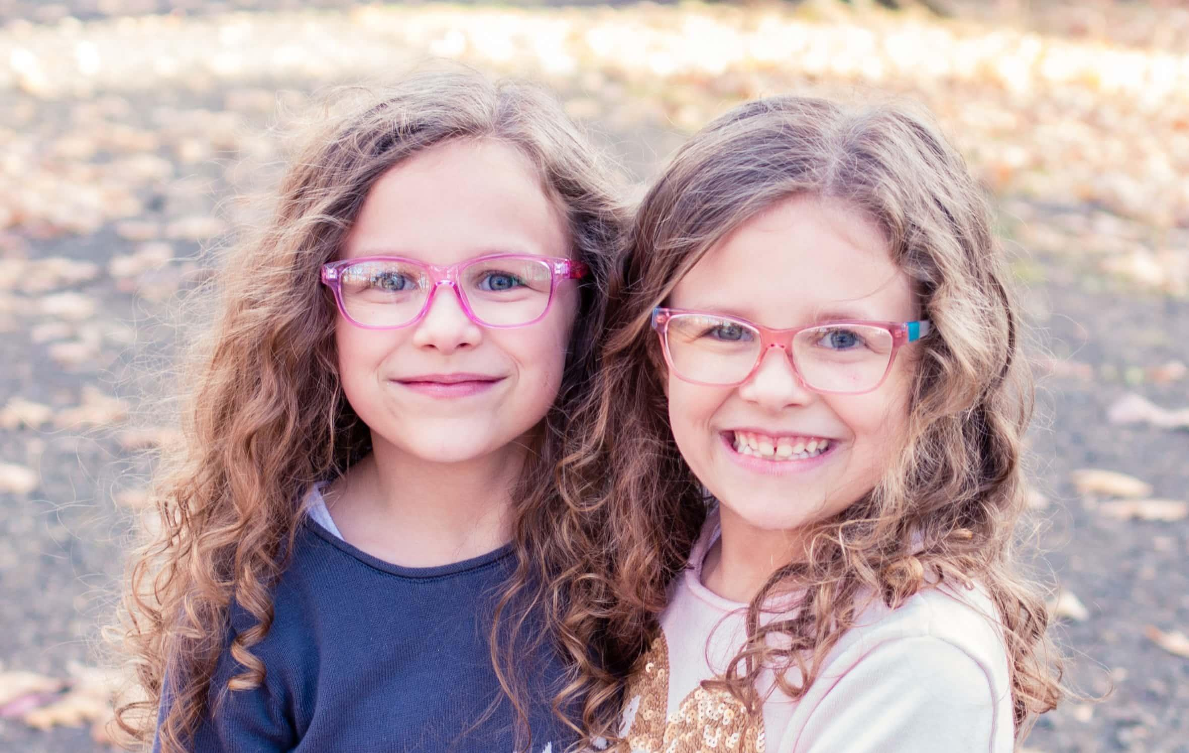 Children's eye exams and frame fittings